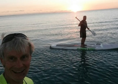 Evening Paddleboarding lesson