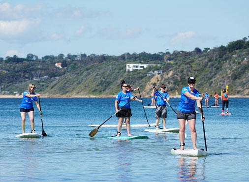 SUP lessons for School Groups