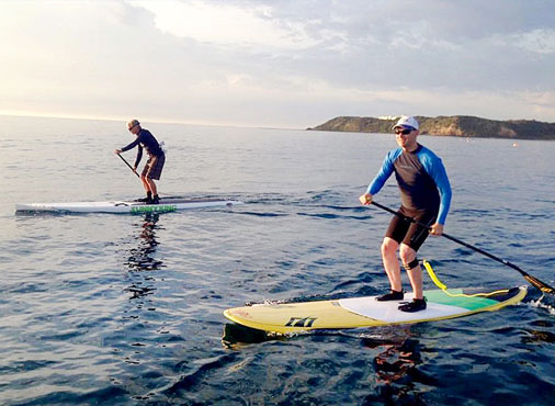 One on One Stand up Paddleboarding lesson